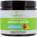 Sky Organics, Organic Unrefined Raw, Mango Butter, 16 oz (454 g)