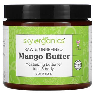 Sky Organics, Mango Butter, Raw & Unrefined, 16 oz (454 g)