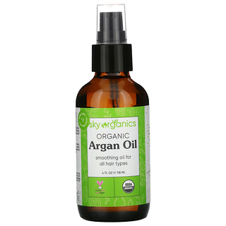 Sky Organics, Organic Argan Oil, 4 fl oz (118 ml)