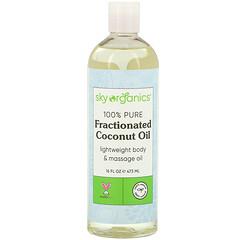 Sky Organics, 100% 純分餾椰子油,16 液量盎司(473 毫升)