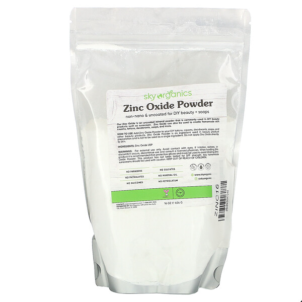 Zinc Oxide Powder, 16 oz (454 g)
