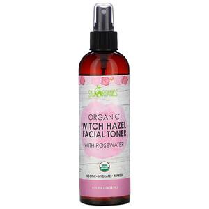Sky Organics, Organic Witch Hazel Facial Toner with Rosewater, 8 fl oz (236.58 ml) отзывы