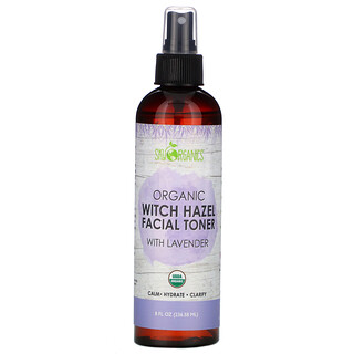 Sky Organics, Organic Witch Hazel Facial Toner with Lavender, 8 fl oz (236.58 ml)