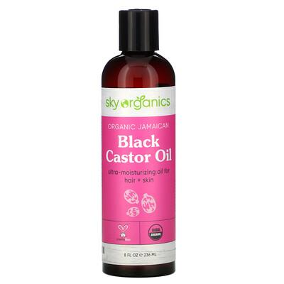 Купить Sky Organics Organic Jamaican Black Castor Oil, 8 fl oz (236 ml)