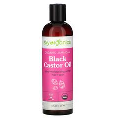 Sky Organics, 有機牙買加黑蓖麻油,8 液量盎司(236 毫升)