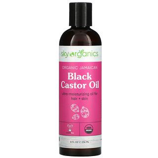 Sky Organics, Organic Jamaican Black Castor Oil, 8 fl oz (236 ml)
