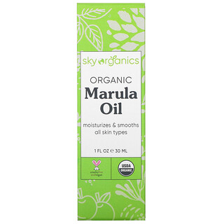 Sky Organics, Organic Marula Oil, 1 fl oz (30 ml)
