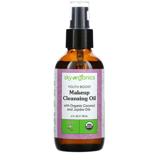 Youth Boost, Makeup Cleansing Oil, 4 fl oz (118 ml)