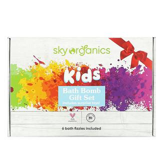 Sky Organics, 장난감이 포함된 어린이용 배쓰 밤, 배쓰 밤 6개