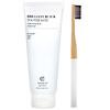 Terra & Co., Brilliant Black Toothpaste & Toothbrush Set, 1 Kit