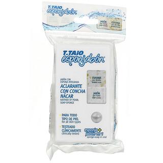 T. Taio, Mother Of Pearl Soap-Sponge, 4.2 oz (120 g)