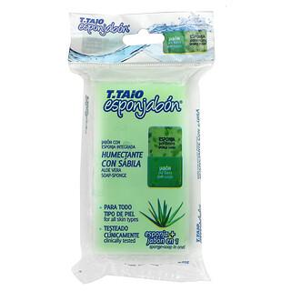 T. Taio, Aloe Vera Soap-Sponge, 4.2 oz (120 g)