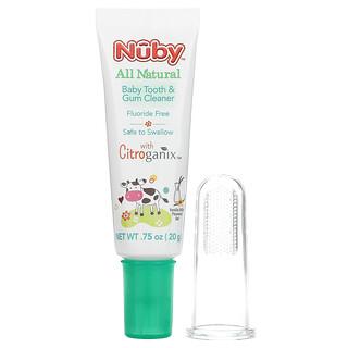 Dr. Talbot's, All Natural Baby Tooth & Gum Cleaner, 0 m+, Vanilla Milk Flavored Gel, 2 Piece Set