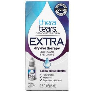 TheraTears, 特强干眼缓解配方,润滑滴眼液,0.5 液量盎司(15 毫升)