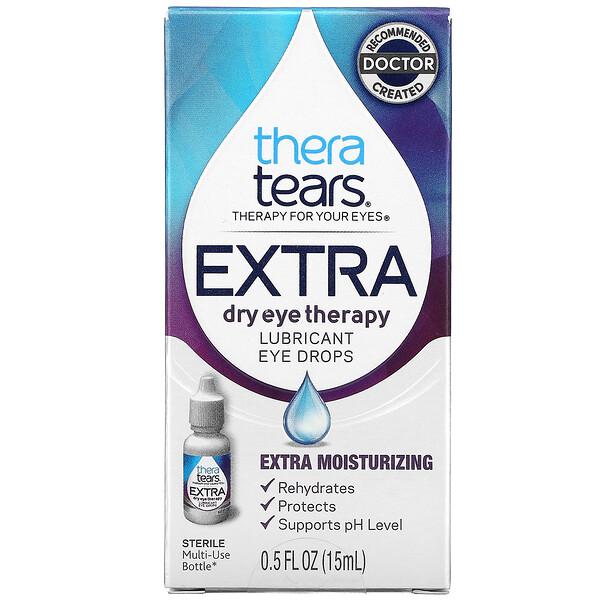 Extra Dry Eye Therapy, Lubricant Eye Drops, 0.5 fl oz (15 ml)