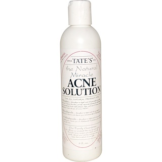 Tate's, The Natural Miracle Acne Solution, 8 fl oz