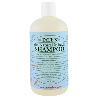 Tate's, The Natural Miracle Shampoo, 18 fl oz