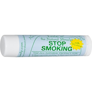 Tate's, The Natural Miracle Stop Smoking Lip Balm with Vicatene, 4.25 g