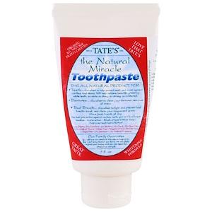 Татес, The Natural Miracle Toothpaste, 5 fl oz отзывы