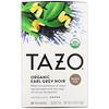 Tazo Teas, 有机格雷伯爵茶,红茶,20 袋装,1.76 盎司(50 克)