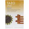 Tazo Teas, デカフェ・チア, 天然ノンカフェイン, 紅茶, フィルターバッグ 20 袋,  1.9 オンス (54 g)