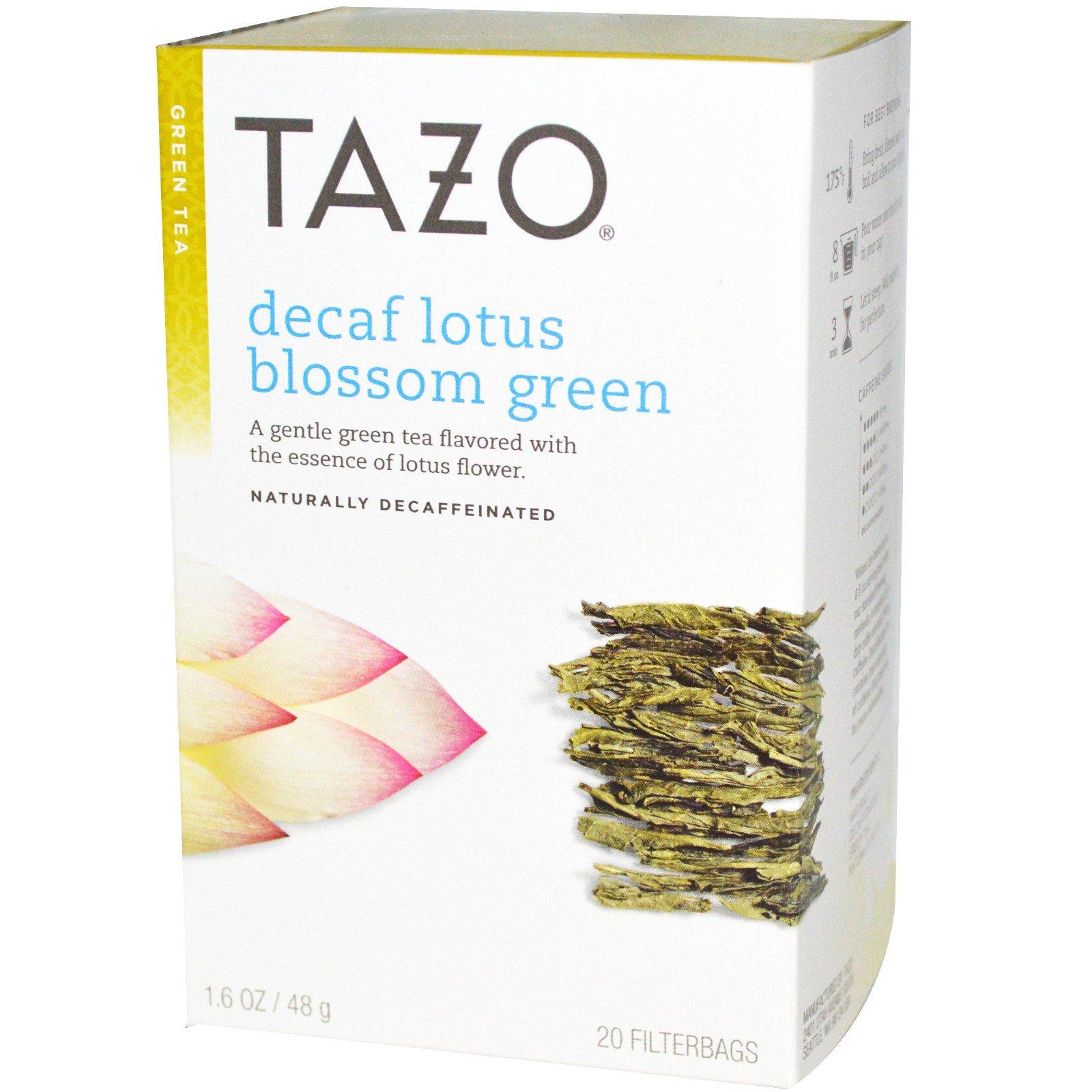 Tazo teas decaf lotus blossom green tea 20 filterbags 16 oz 48 tazo teas decaf lotus blossom green tea 20 filterbags 16 oz 48 izmirmasajfo Image collections