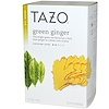 Tazo Teas, Green Ginger, Green Tea, 20 Filterbags, 1.5 oz (44 g)