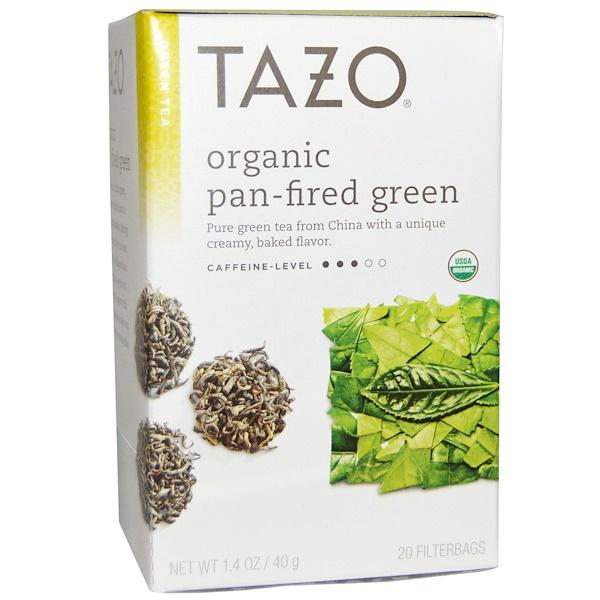 Tazo Teas, Органический обжаренный зеленый чай, 20 фильтр-пакетов, 1,4 унции (40 г) (Discontinued Item)