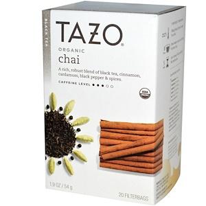 Tazo Teas, Органический черный чай, 20 фильтр-пакетиков, 1,9 унции (54 г) инструкция, применение, состав, противопоказания