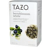 Отзывы о Tazo Teas, Ароматизированный белый чай из ягодного цвета, 20 фильтр-пакетов, 1,06 унции (30 г)