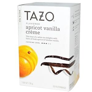 Tazo Teas, Белый чай со вкусом абрикосово-ванильного крема, 20 чайных пакетиков, 1,06 унции (30 г) инструкция, применение, состав, противопоказания