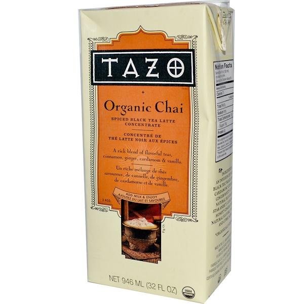 Tazo Teas, Organic Chai, Spiced Black