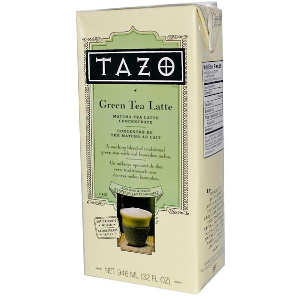 Tazo Teas, Green Tea Latte, Matcha Tea