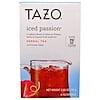 Tazo Teas, Tazo، شاي أعشاب الشغف المثلج، 6 أكياس، 2.85 أونصة (81 غ)