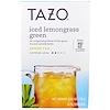 Tazo Teas, 冰檸檬草綠茶,6過濾袋,3.15盎司(89克)