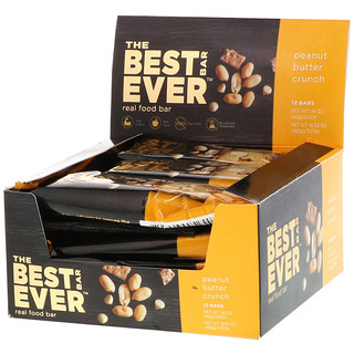 Best Bar Ever, Peanut Butter Crunch, 12 Bars, 1.41 oz (40 g) Each