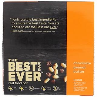 Best Bar Ever, Chocolate Peanut Butter, 12 Bars, 1.41 oz (40 g) Each