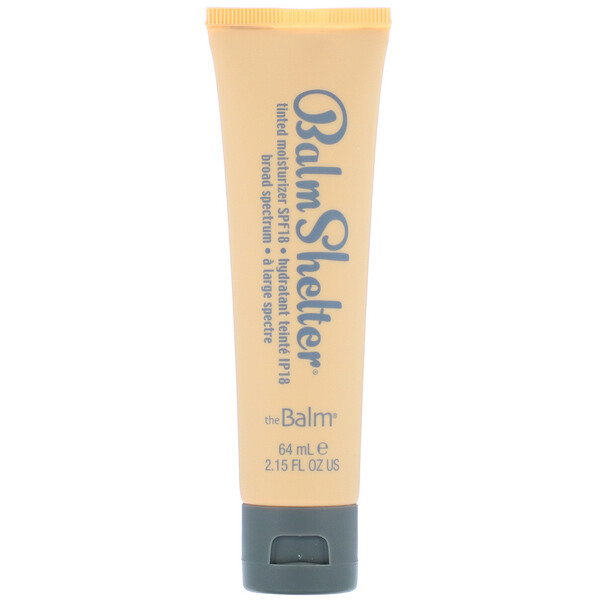 theBalm Cosmetics, Balm Shelter Tinted Moisturizer, SPF 18, Medium Dark, 2.15 fl oz (64 ml) (Discontinued Item)