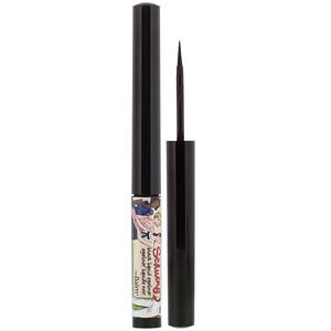 theBalm Cosmetics, Schwing, Liquid Eyeliner, Black, 0.06 fl oz (1.7 ml) отзывы покупателей