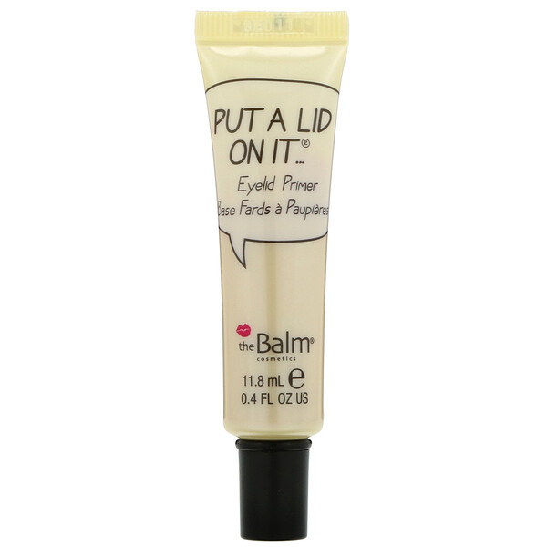theBalm Cosmetics, Put A Lid On It, Eyelid Primer, 0.4 fl oz (11.8 ml)