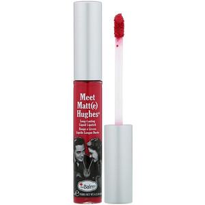 theBalm Cosmetics, Meet Matt(e) Hughes, Long-Lasting Liquid Lipstick, Sentimental, 0.25 fl oz (7.4 ml) отзывы