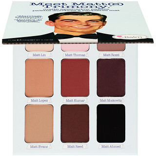 theBalm Cosmetics, 認識啞光 Trimony,啞光眼影盤,理想伴侶,0.756 盎司(21.6 克)