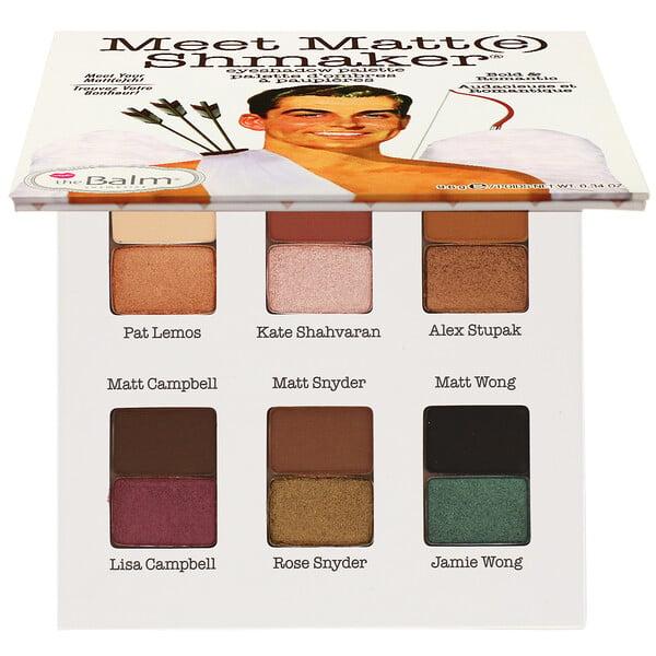 theBalm Cosmetics, Meet Matte Shmaker, Eyeshadow Palette, 0.34 oz (9.6 g)