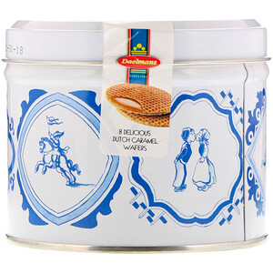 Daelmans, Stroopwafels, Gift Tin, Caramel, 8 Waffles, 8.11 oz (230 g) отзывы покупателей