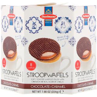 Daelmans, Stroopwafels, Chocolate-Caramel, 8 Waffles, 7.90 oz (224 g)