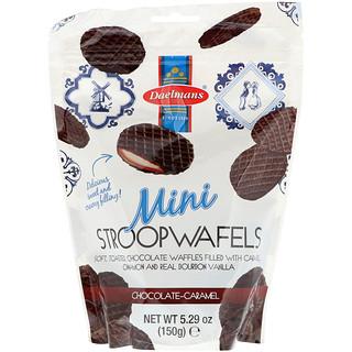 Daelmans, Mini Stroopwafels, Chocolate Caramel, 5.29 oz (150 g)