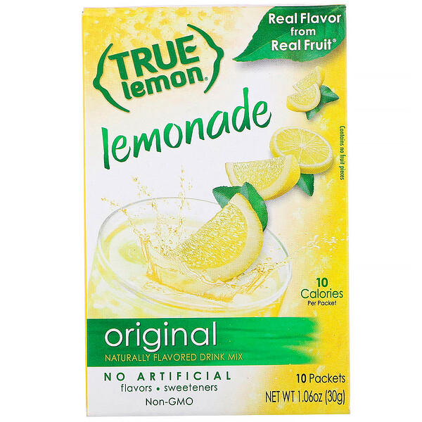 True Lemon, Original Lemonade, 10 Packets, 1.06 oz (30 g)