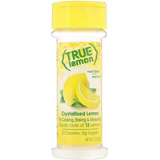 True Citrus, True Lemon, Crystallized Lemon, 2.12 oz (60 g)