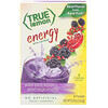 True Citrus, True Lemon, Energy, Wild Blackberry Pomegranate, 6 Packets, 0.57 oz (16.2 g)