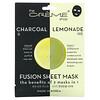 The Creme Shop, Fusion Beauty Sheet Mask, Charcoal Lemonade, 5 Sheets, 4.40 oz (125 g)